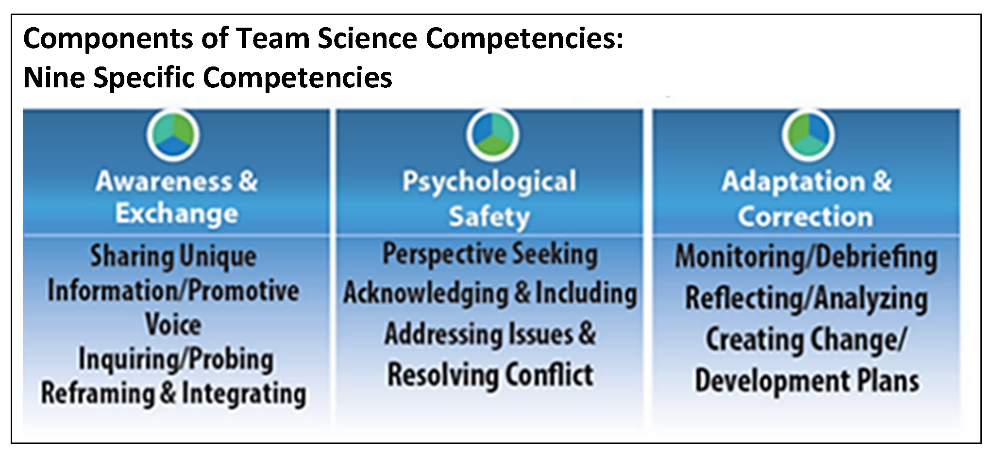 TeamMAPPS Competencies
